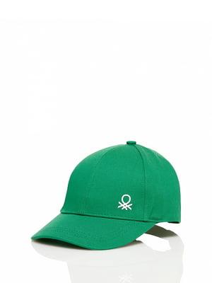 Бейсболка зеленая | 4910578