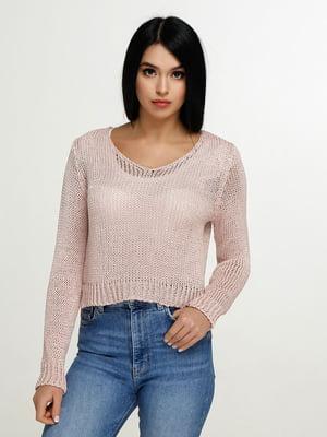 Пуловер розовый   4911384