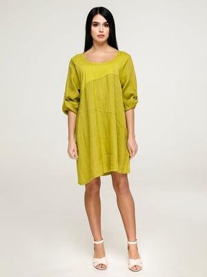 Сукня гірчичного кольору   4911406