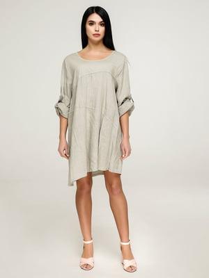 Сукня кольору хакі   4911407