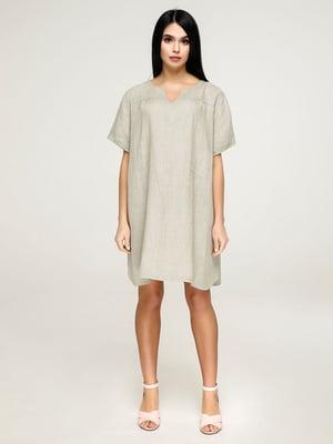 Платье цвета хаки | 4911431