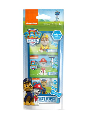 Детские влажные салфетки «Собачий патруль» (3х10 шт.) | 4908320