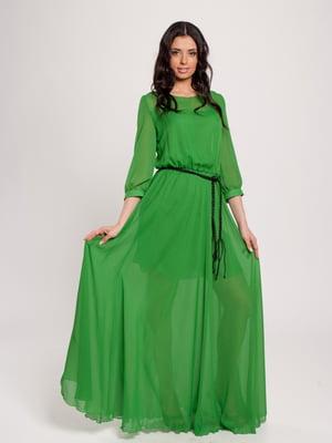Платье зеленое   4910688