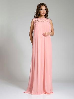 Платье персикового цвета   4910706