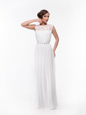 Платье молочного цвета   4910707