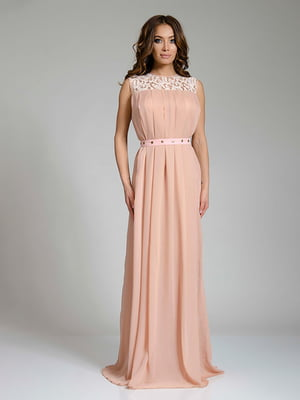 Платье бежевое   4910709