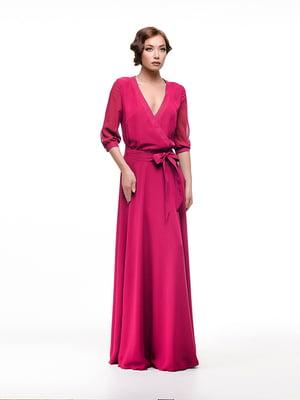 Платье цвета фуксии   4910714