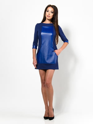 Сукня кольору електрик | 4910720