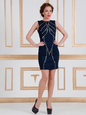 Платье темно-синее   4910724