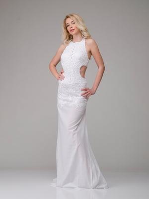 Платье молочного цвета   4910749