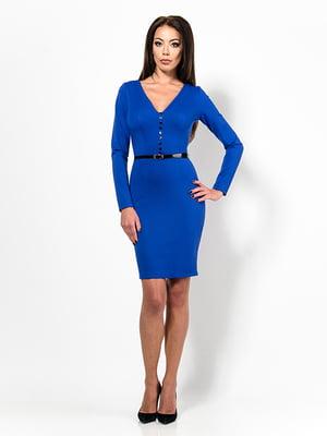 Платье цвета электрик   4910769