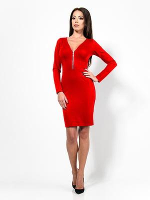 Платье красное   4910792