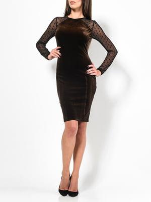 Сукня коричнева | 4910811