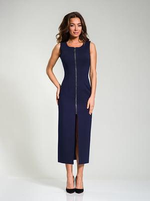 Платье темно-синее   4910819