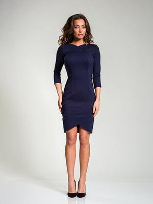 Платье темно-синее   4910830