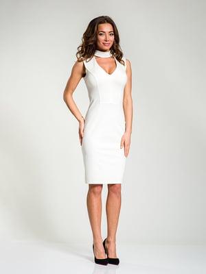 Платье молочного цвета   4910835