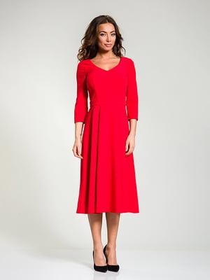 Платье красное | 4910845