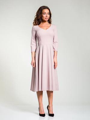 Платье цвета пудры   4910847