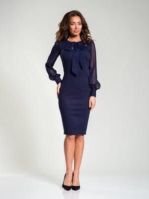 Платье темно-синее | 4910856