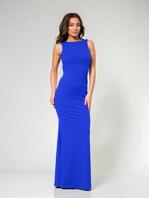 Платье цвета электрик   4910888