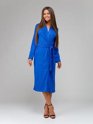 Платье цвета электрик   4910928
