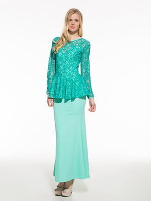 Сукня бірюзова | 4911014