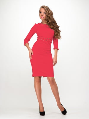 Платье коралловое | 4911069