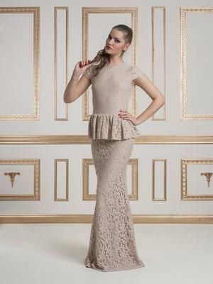 Платье бежевое   4911106