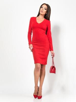 Платье красное | 4911201