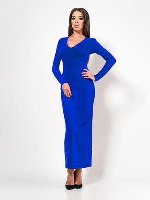 Сукня кольору електрик | 4911213