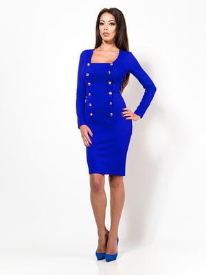 Платье цвета электрик | 4911218