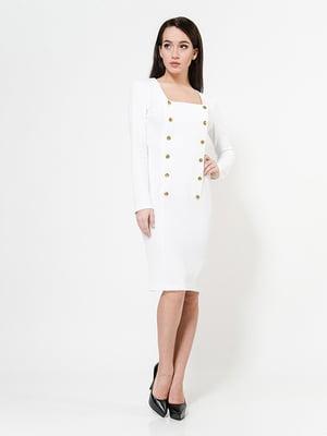 Платье молочного цвета   4911221