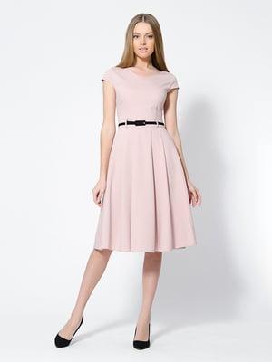 Сукня кольору пудри | 4911246