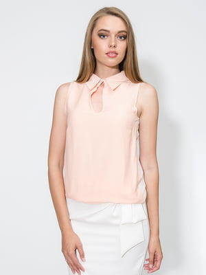 Блуза персикового кольору | 4911254