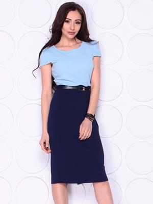 Платье двухцветное | 4911491