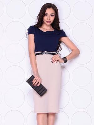 Платье двухцветное | 4911492