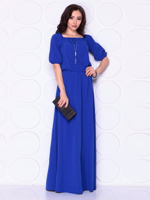 Сукня кольору електрик | 4911519