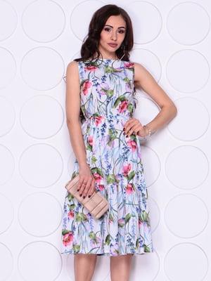 Платье в цветочный принт   4911520