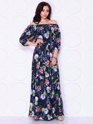 Платье в цветочный принт | 4911533