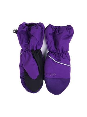 Рукавицы фиолетовые | 2731161