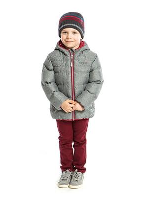 Куртка сіра | 3703666