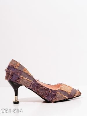 Туфли сиреневые | 4911832