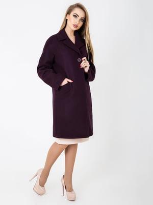 Пальто фіолетове | 4912635