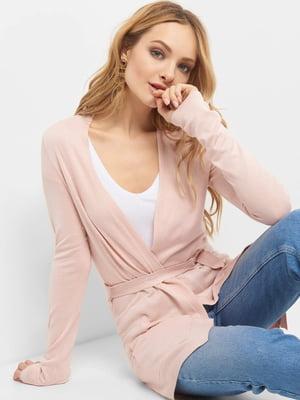 Кардиган розовый | 4904204