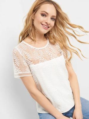 Блуза біла | 4904211