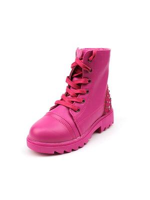 Ботинки малиновые | 4908514