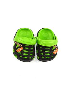 Сабо чорно-зелені | 4908817