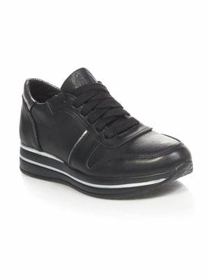 Кроссовки черные   4904025