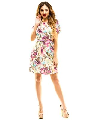 Сукня в квітковий принт   4912929
