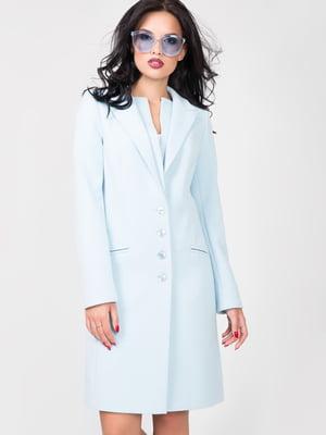 Пальто світло-блакитне | 4910212